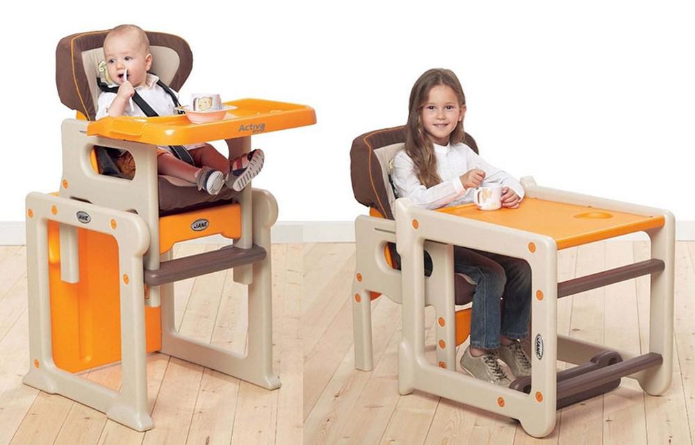 Есть несколько видов стульчиков для кормления, и каждый из них хорош по-своему