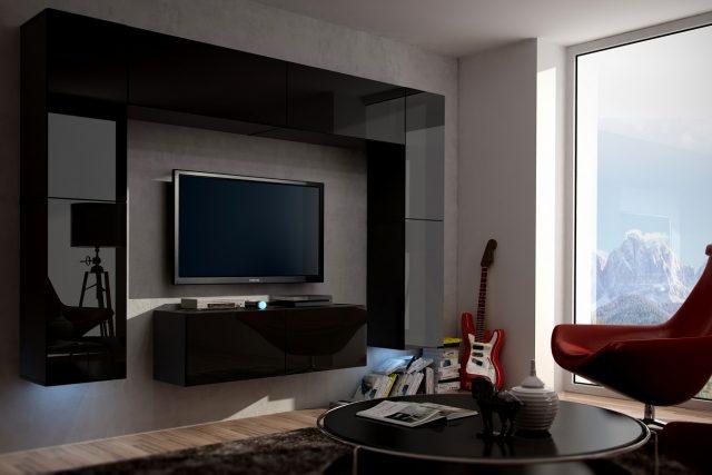 В маленькой комнате вполне можно обойтись моделью с большой диагональю