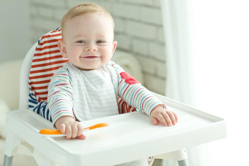 Очень важно, чтобы стульчик был достаточно устойчивым, иначе активный малыш может просто перевернуться вместе с ним
