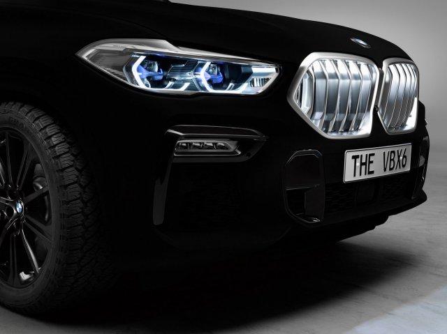 Новинка от «БМВ» - радикально-чёрный цвет машины, поглощающий световые лучи