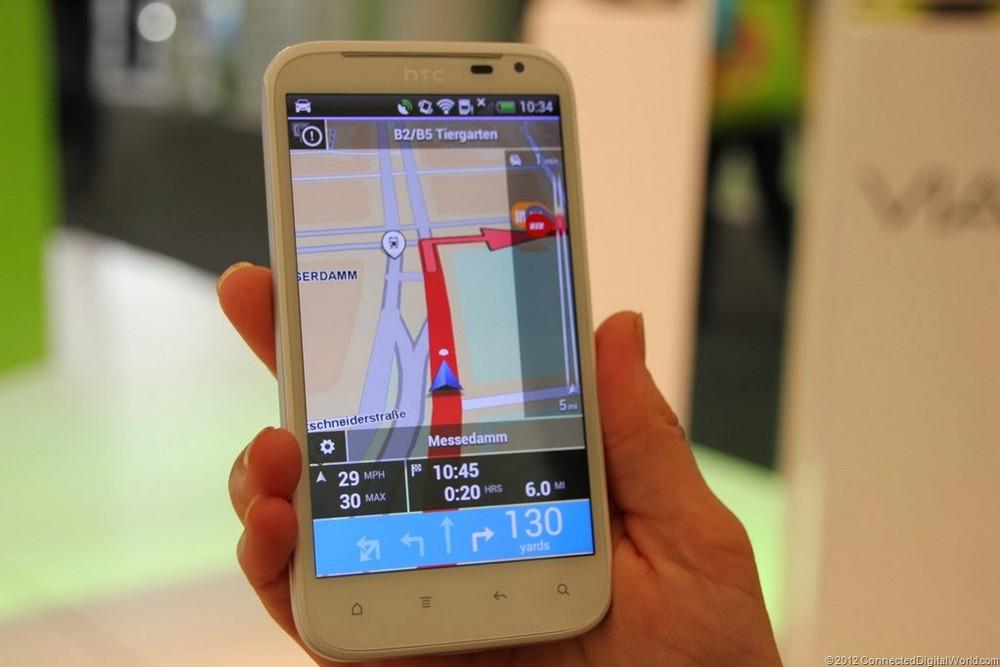 Слабый процессор делает GPS-систему менее точной и стабильной