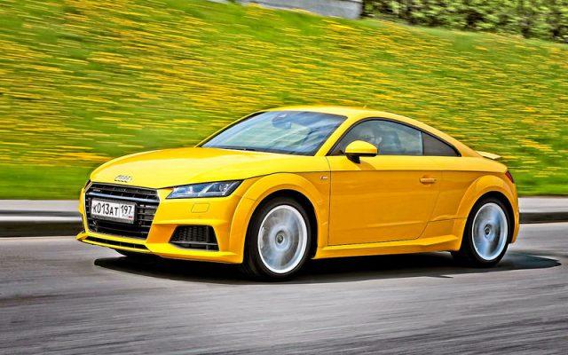 Жёлтый очень идёт спортивным автомобилям