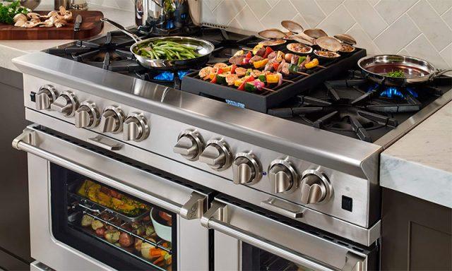 Дополнительные функции газовых плит значительно облегчают приготовление еды