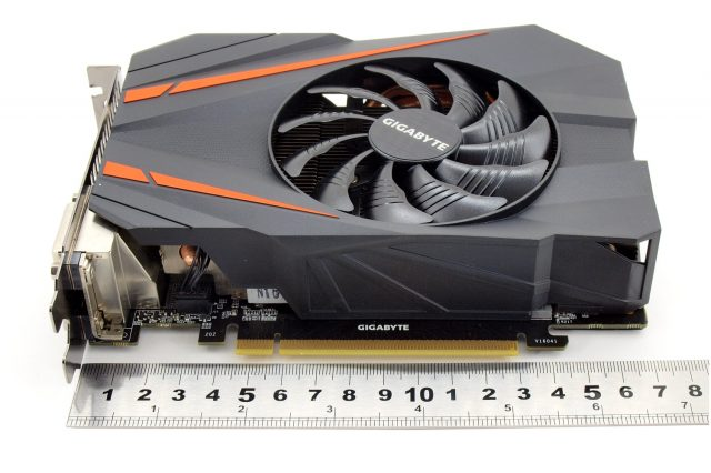 GTX 1070 - GIGABYTE Mini ITX OC