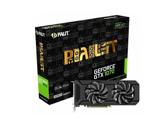 Palit GeForce GTX 1070 Dual