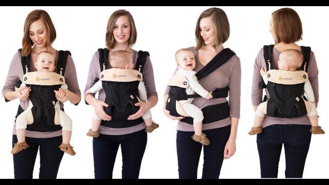 Перед покупкой необходимо примерить эргорюкзак вместе с ребенком