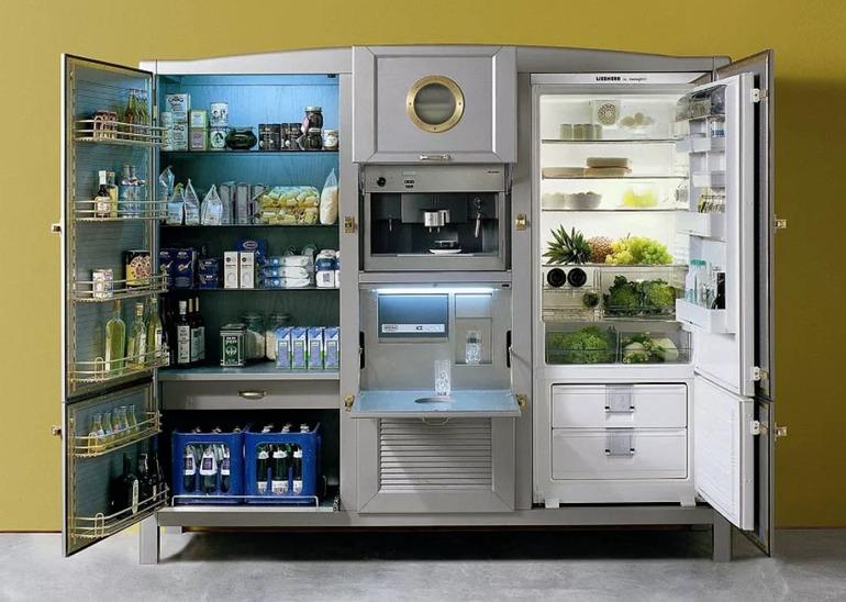Чем больше и мощнее холодильник, тем больше энергии он тратит