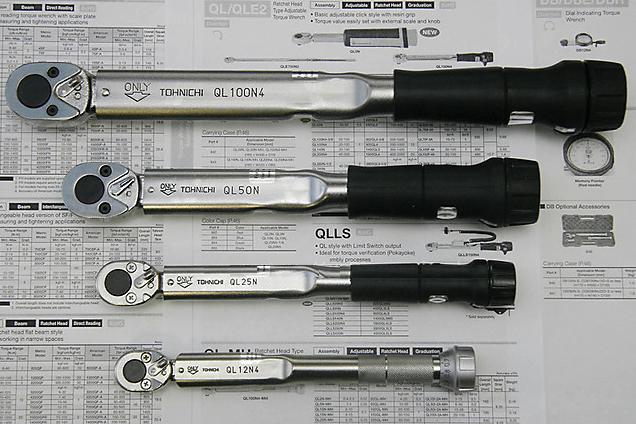 Динамометрические ключи с оптимальными характеристиками