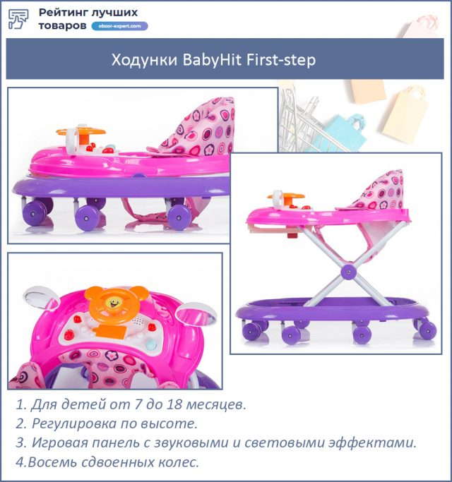 Ходунки BabyHit First-step