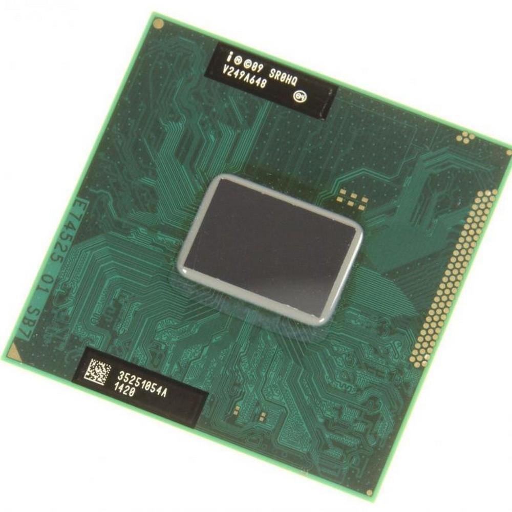 Пример процессора Intel Celeron для ноутбука