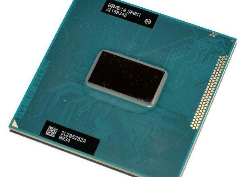 Пример процессора Intel Core i3 для ноутбука