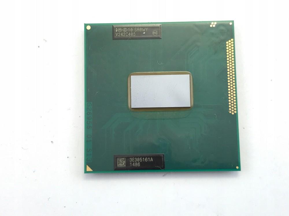 Пример процессора Intel Core i5 для ноутбука