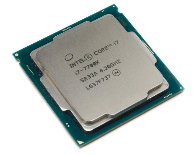 Intel Core i7-7700 Kaby Lake