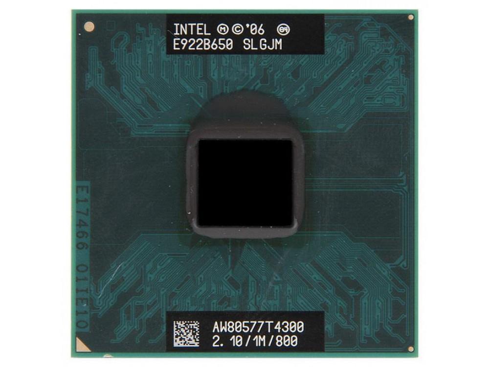 Пример процессора Intel Pentium для ноутбука