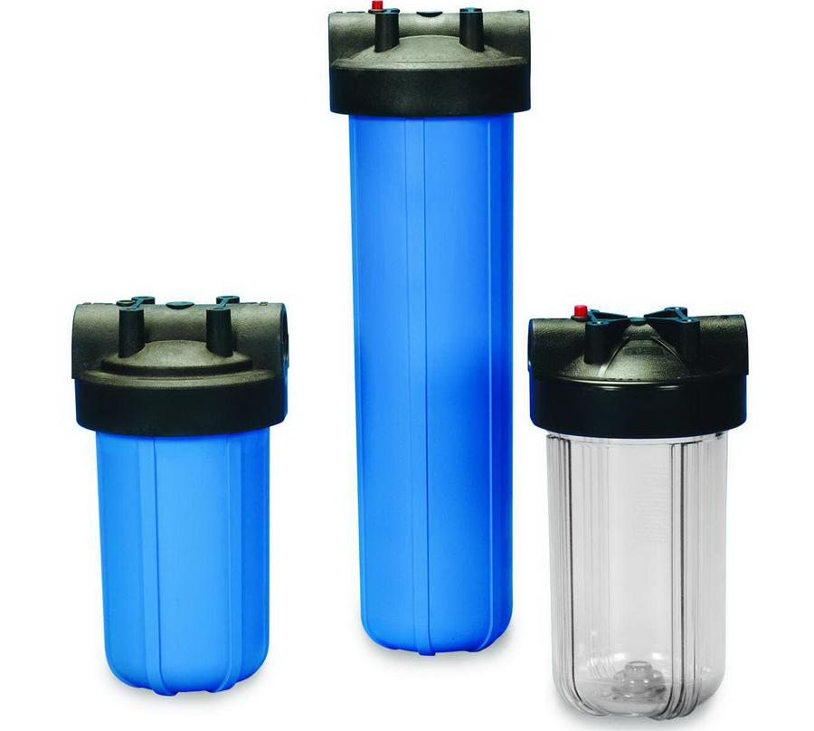 Магистральные фильтры могут иметь разные размеры