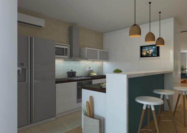 Недорогой телевизор для кухни на стену