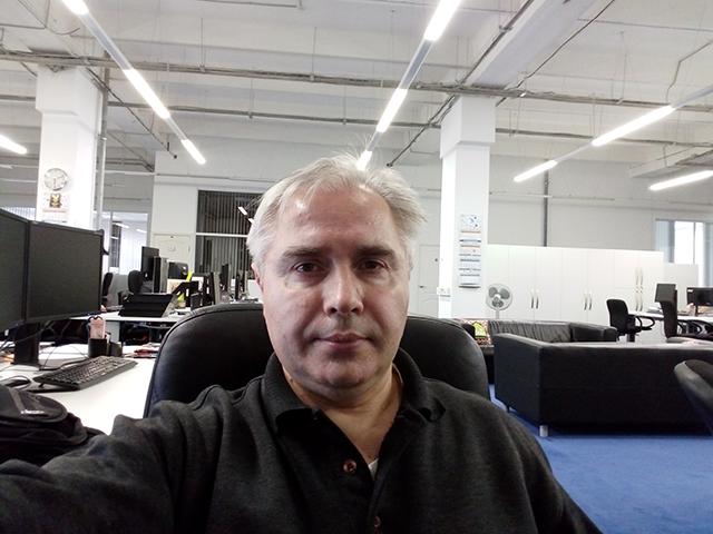 Селфи на смартфон BQ BQS 5050 Strike Selfie