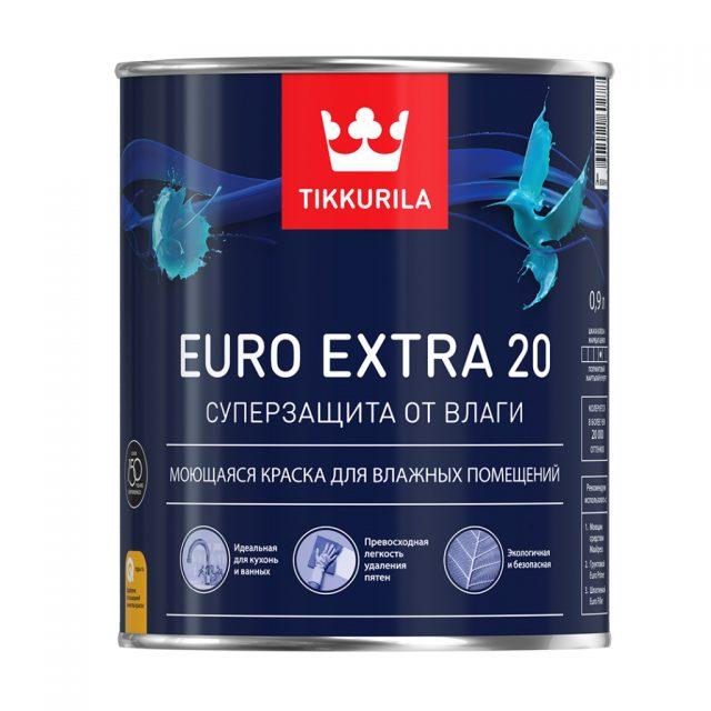 Краска «Euro Extra 20» от «TIKKURILA»