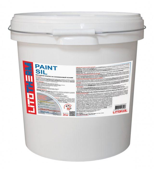 Краска «Litotherm Paint Sil» от «LITOKOL»