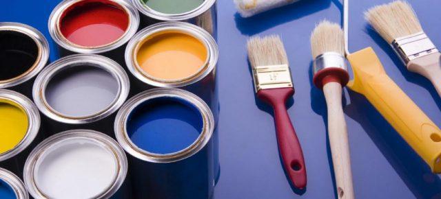 На смену масляным краскам пришла термостойкая алкидная краска, которая распространена в продаже