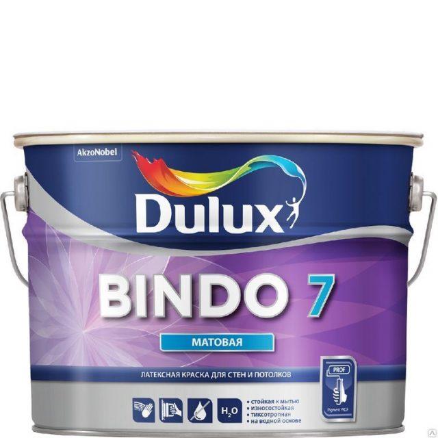Краска «Bindo 7 BW» от «Dulux»