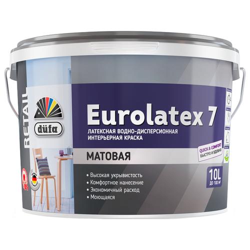 Краска «Retail Eurolatex 7» от «Dufa»