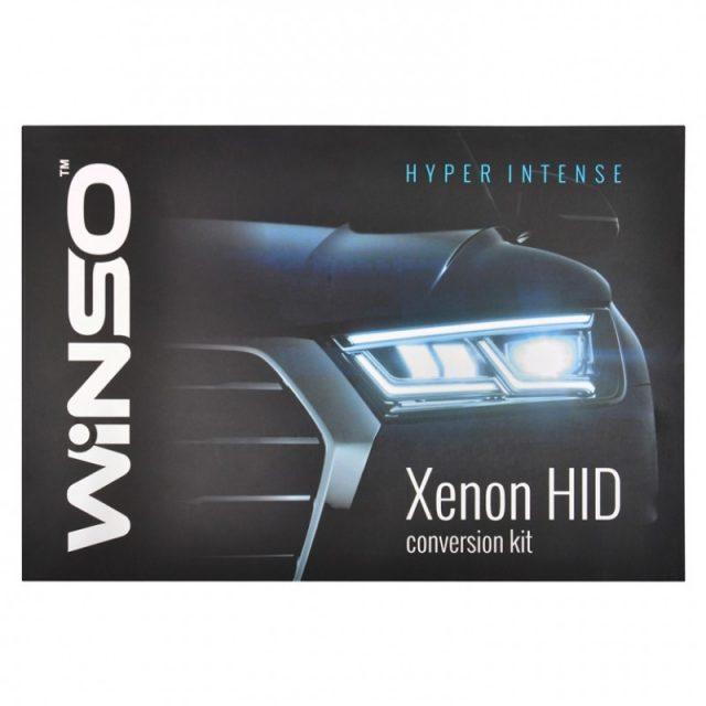 Winso Slim Ballast Н7 5000K Kit