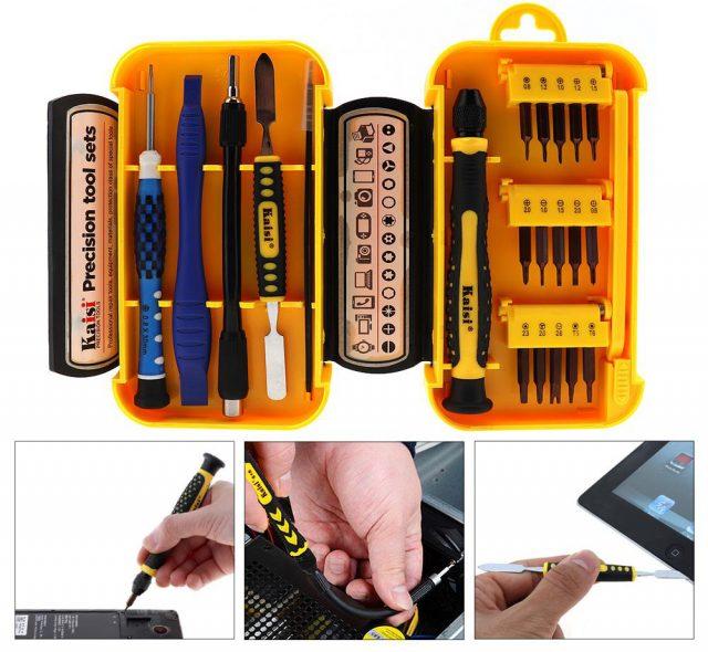 Выбираем качественный и надёжный набор отвёрток для мелкого ремонта ПК и мобильных телефонов