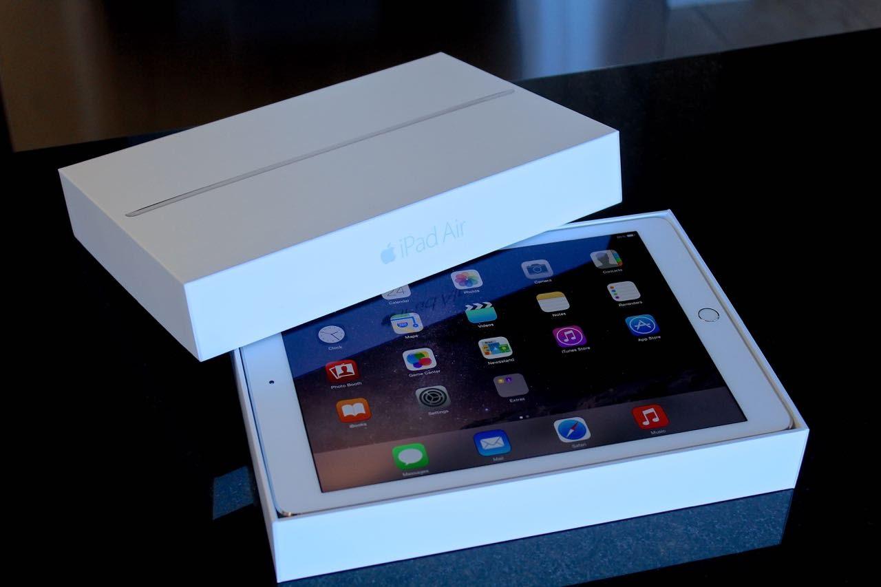 iPad в упаковке